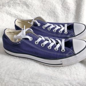 Size 9 Navy Converse All Stars